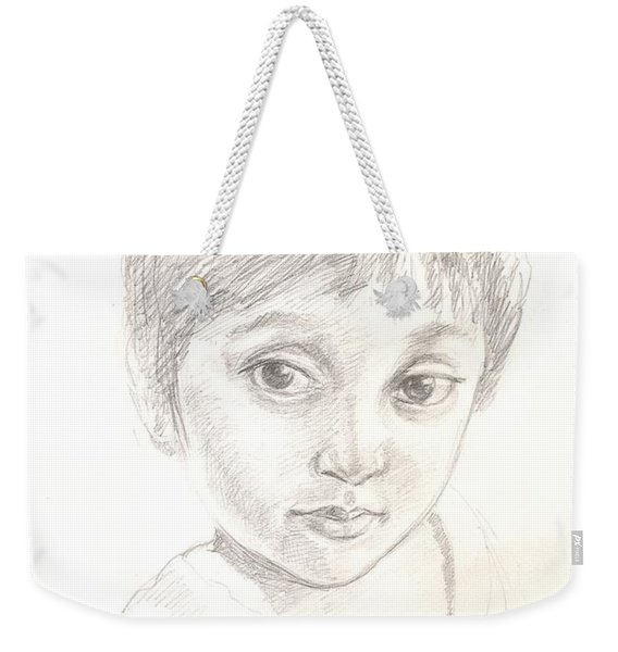 Child Weekender Tote Bag