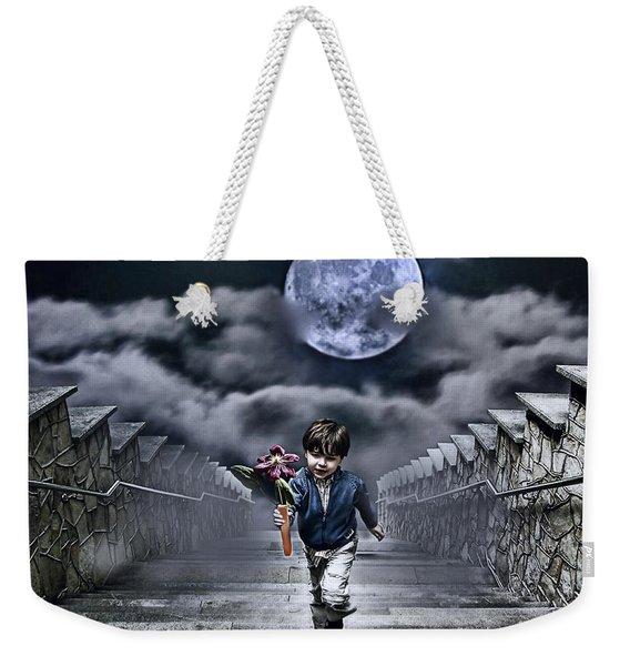 Child Of The Moon Weekender Tote Bag