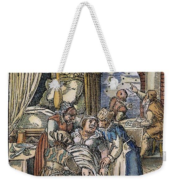Childbirth, 1580 Weekender Tote Bag