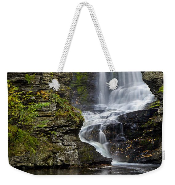 Childs Park Waterfall Weekender Tote Bag