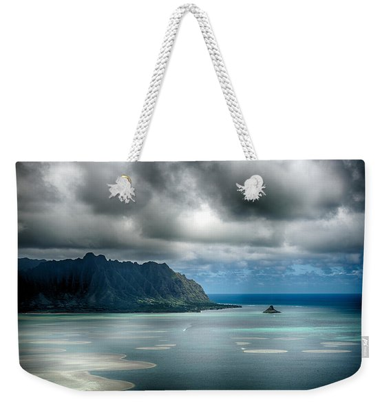 Chinaman's Hat From Puu Maelieli Weekender Tote Bag