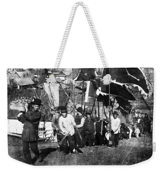 Chinese Immigrants, C1900 Weekender Tote Bag