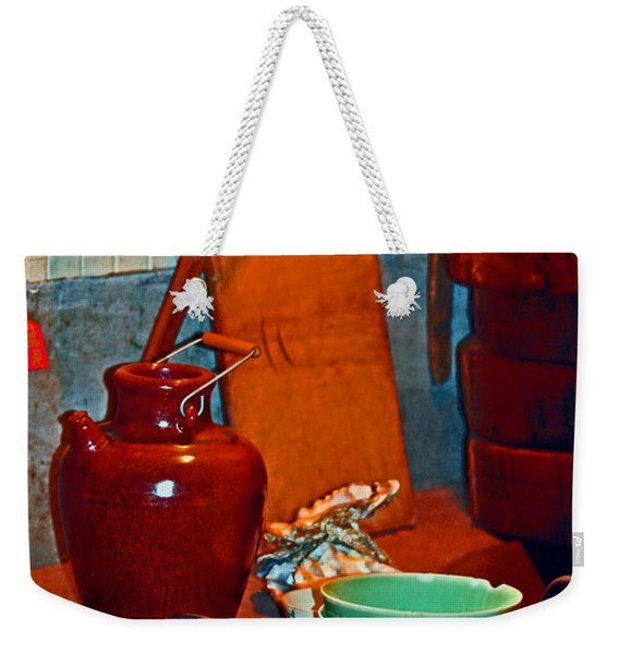 Chinese Kitchen Cookware Weekender Tote Bag