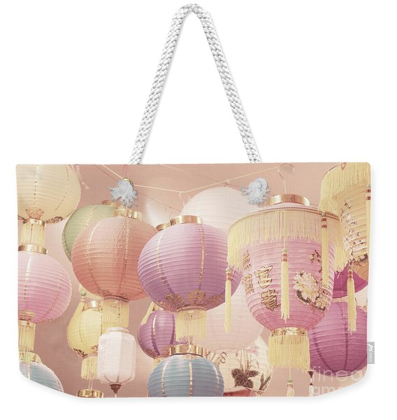 Chinese Lanterns Weekender Tote Bag