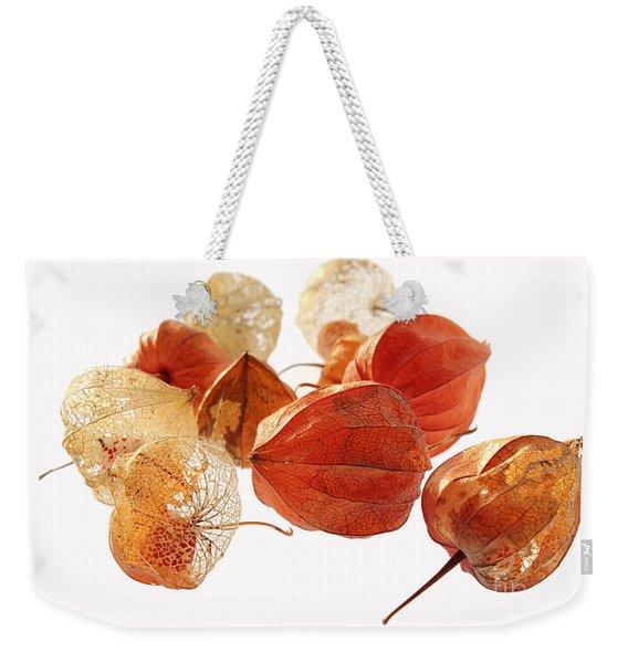 Chinese Lanterns Weekender Tote Bag