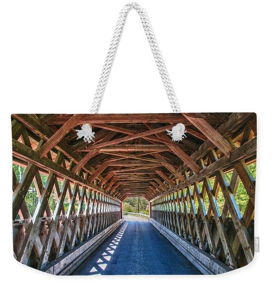 Chiselville Bridge Weekender Tote Bag