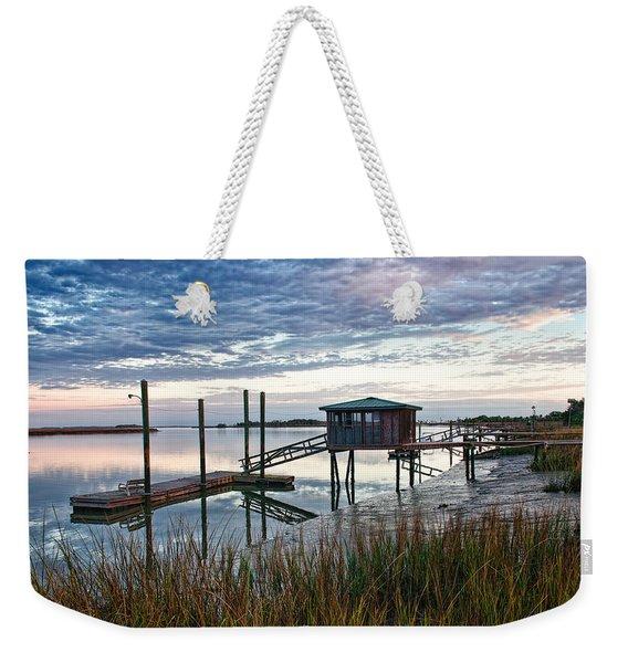 Chisolm Island Docks Weekender Tote Bag