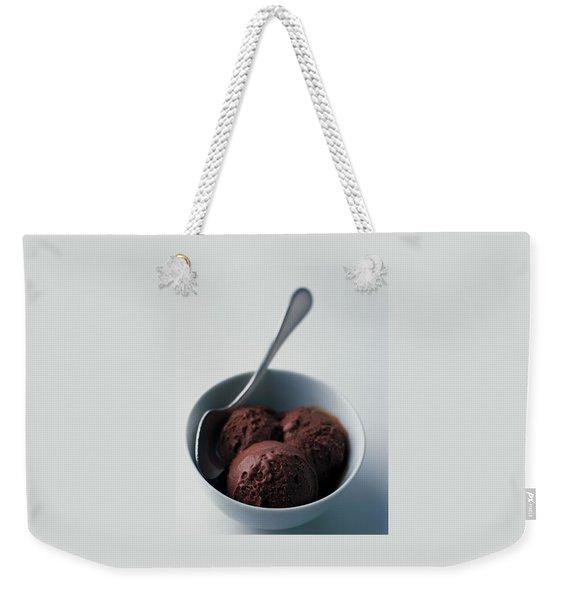 Chocolate Gelato Weekender Tote Bag