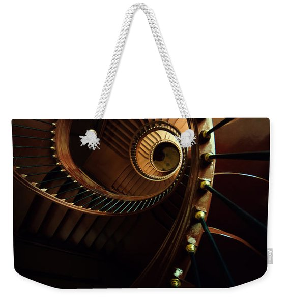 Weekender Tote Bag featuring the photograph Chocolate Spirals by Jaroslaw Blaminsky