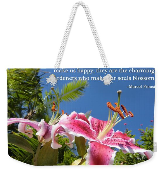 Choose Your Quote Choose Your Picture 17 Weekender Tote Bag
