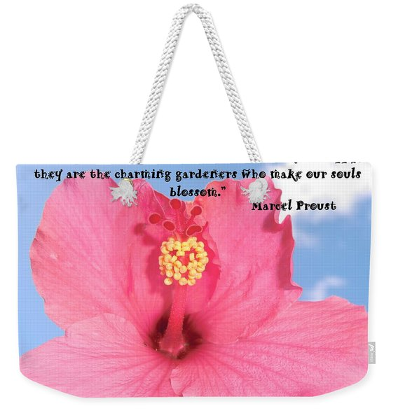 Choose Your Quote Choose Your Picture 4 Weekender Tote Bag