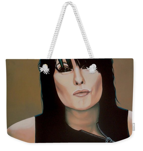 Chrissie Hynde Painting Weekender Tote Bag