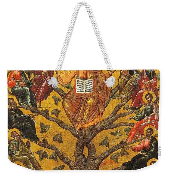 Christ And The Apostles Weekender Tote Bag