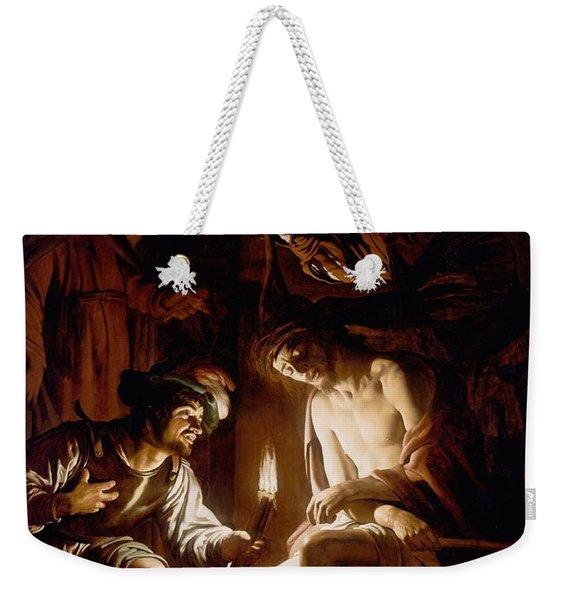 Christ Crowned With Thorns Weekender Tote Bag