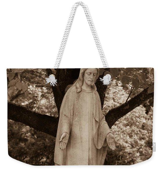 Christ In The Garden Weekender Tote Bag