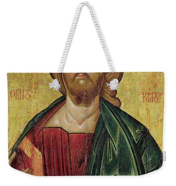 Christ Pantocrator Weekender Tote Bag