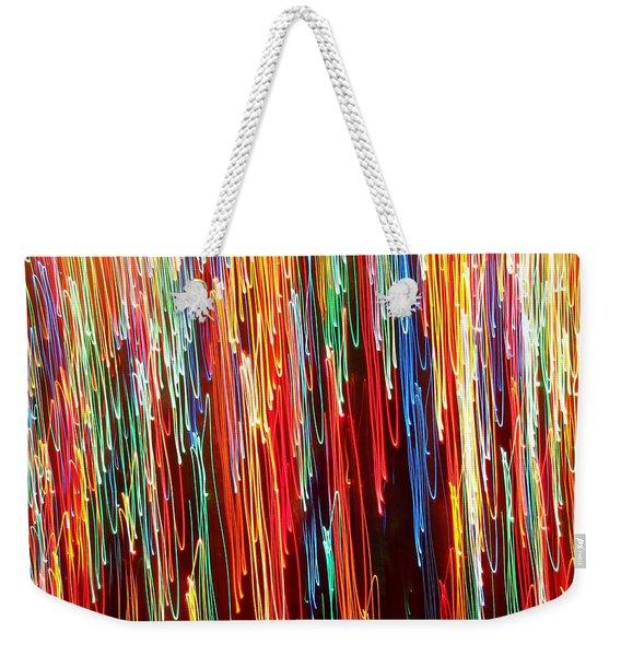A Rainbow Melting  Weekender Tote Bag