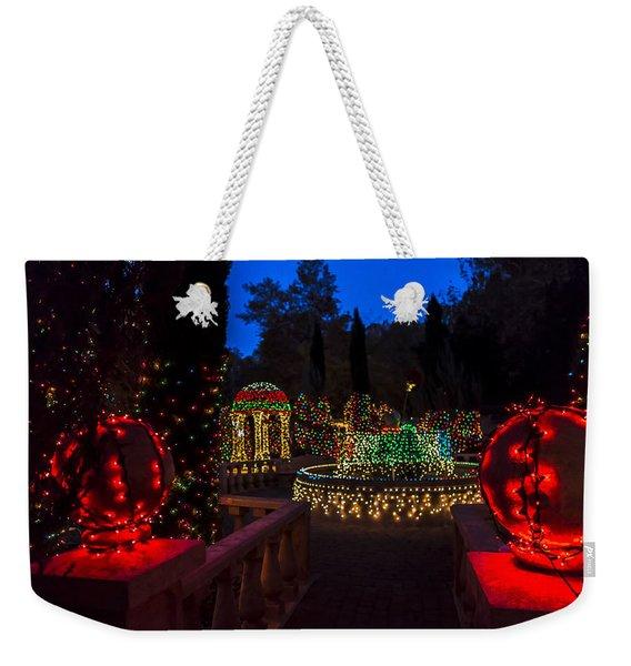 Christmas Balls Weekender Tote Bag