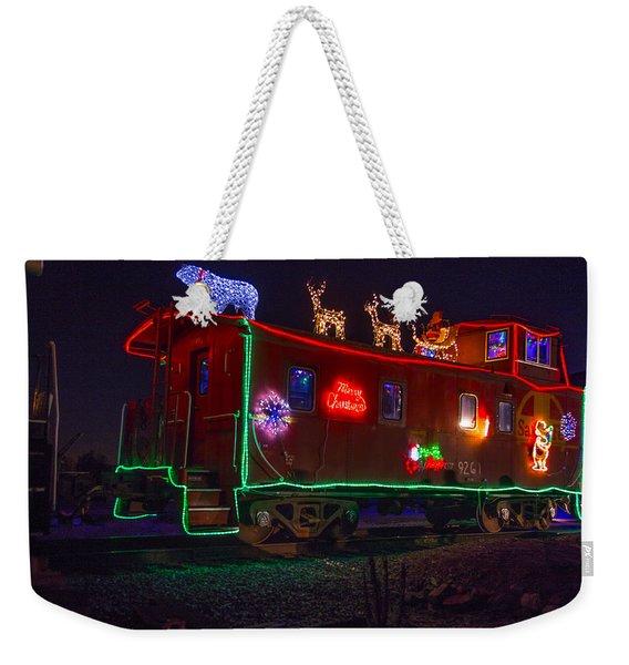 Christmas Caboose  Weekender Tote Bag