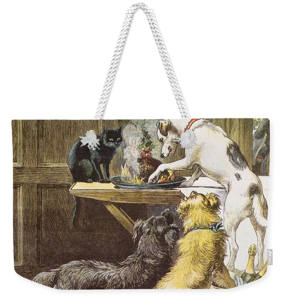 Christmas Day The Uninvited Weekender Tote Bag