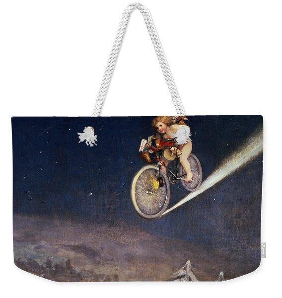 Christmas Delivery Weekender Tote Bag