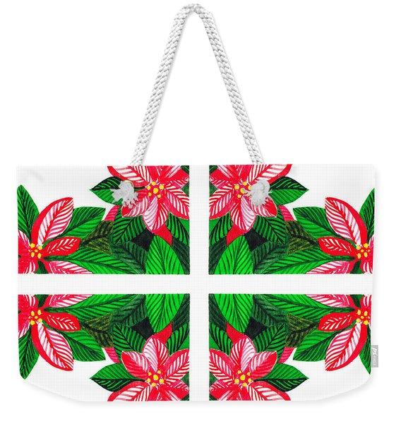 Christmas Gift Weekender Tote Bag