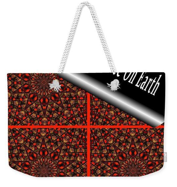 Christmas Gift Wrapping Weekender Tote Bag