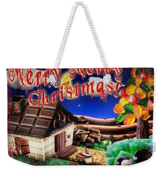 Christmas Greeting Card Iv Weekender Tote Bag