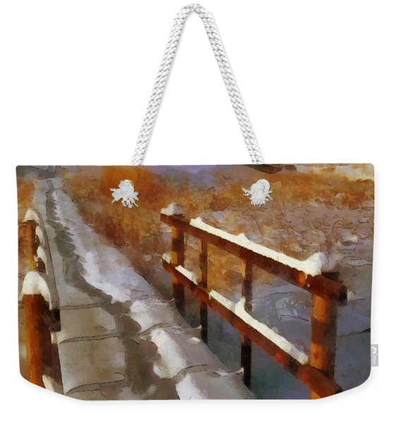 Christmas Greetings Weekender Tote Bag