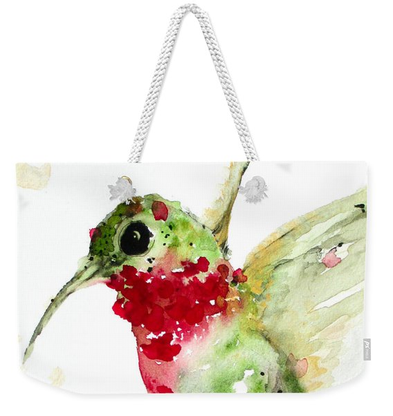 Christmas Hummer Weekender Tote Bag
