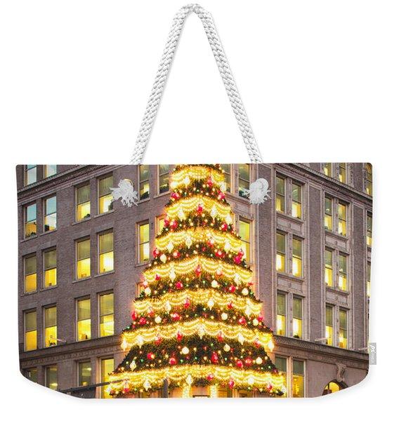 Christmas In Pittsburgh  Weekender Tote Bag
