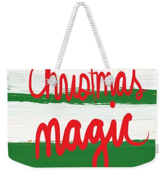 Christmas Magic - Greeting Card Weekender Tote Bag
