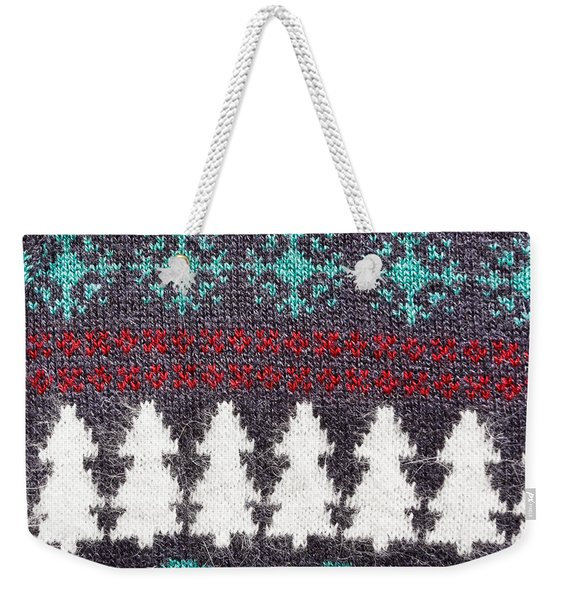 Christmas Pattern  Weekender Tote Bag