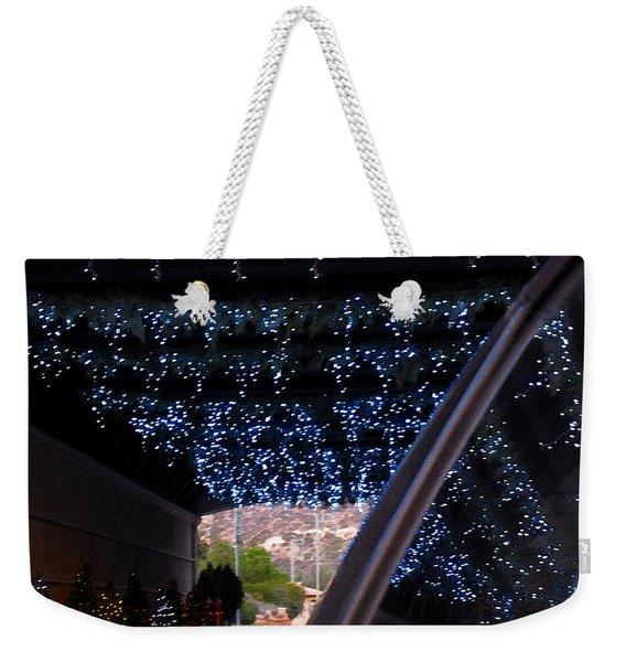 Christmas Road Decoration Weekender Tote Bag