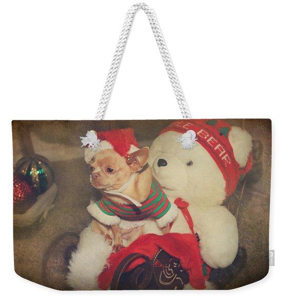 Christmas Zoe Weekender Tote Bag