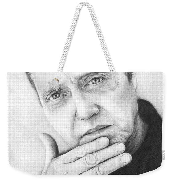 Christopher Walken Weekender Tote Bag