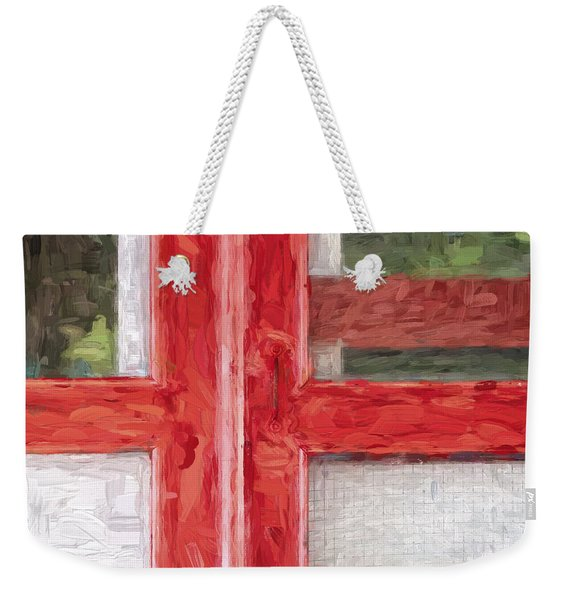Church Camp House Detail Painterly Series 11 Weekender Tote Bag