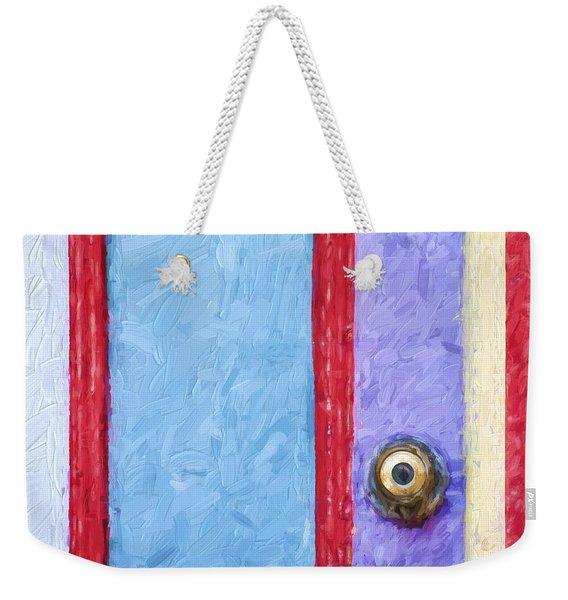 Church Camp House Detail Painterly Series 2 Weekender Tote Bag