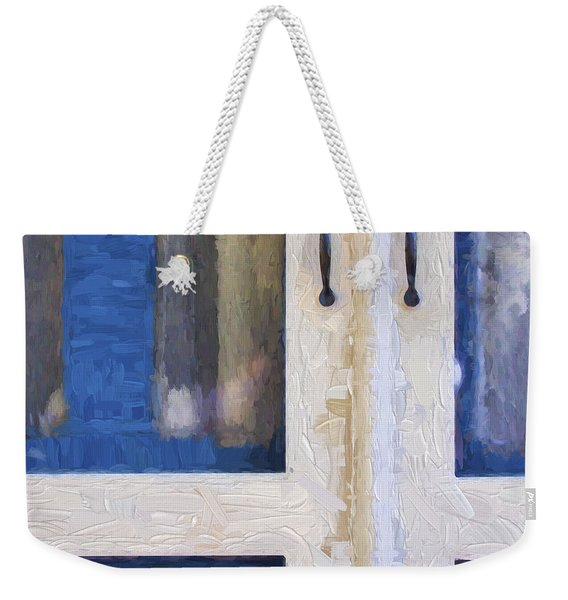 Church Camp House Detail Painterly Series 4 Weekender Tote Bag