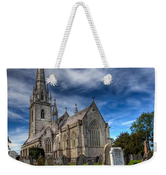 Church Of Marble Weekender Tote Bag