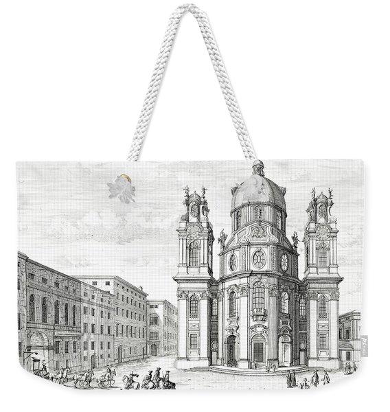 Church Of Notre Dame, Salzburg Weekender Tote Bag