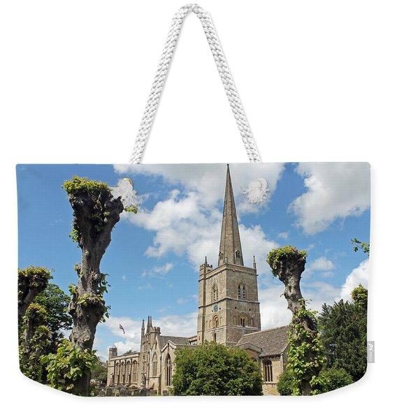 Church Of St John The Baptist Weekender Tote Bag