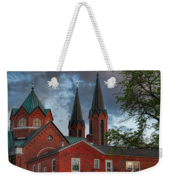 Church Of The Resurrection Weekender Tote Bag
