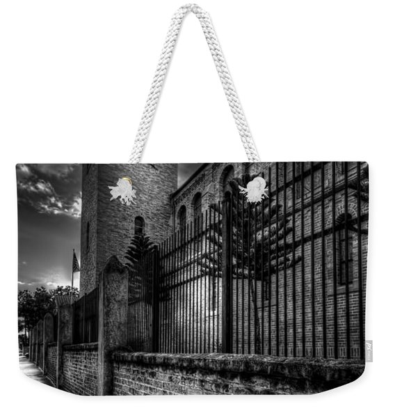 Church Tower In The Clouds Weekender Tote Bag