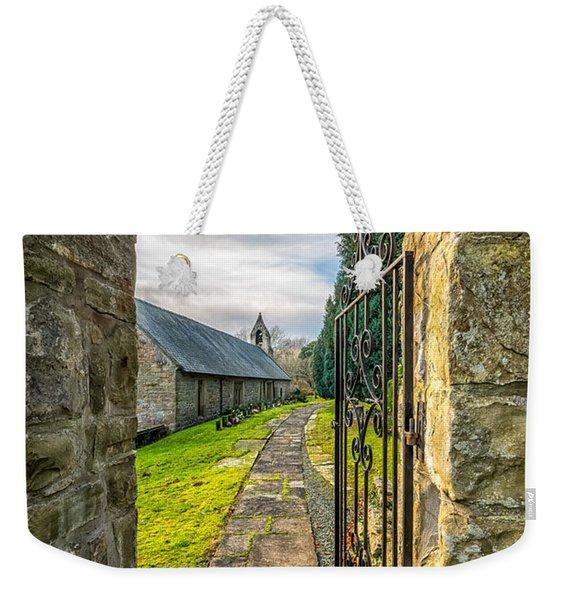 Church Way Weekender Tote Bag