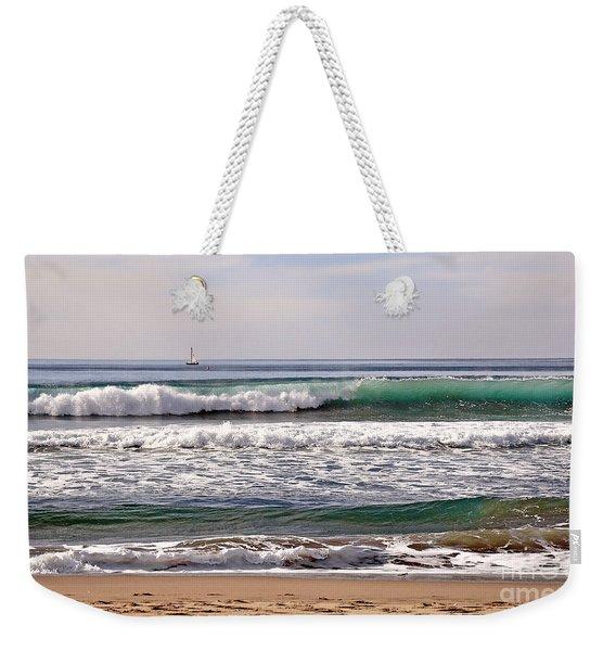 Churning Surf At Monterey Bay Weekender Tote Bag