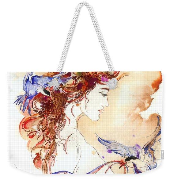 Cinderella Story Weekender Tote Bag