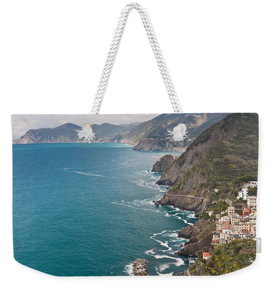Cinque Terre Coast View Weekender Tote Bag