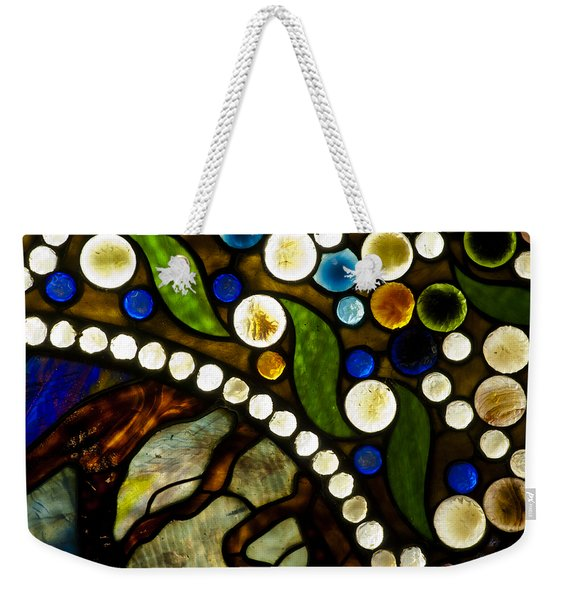 Circles Of Glass Weekender Tote Bag