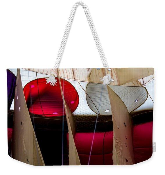 Circles Within Circles - Inside A Hot Air Balloon Weekender Tote Bag